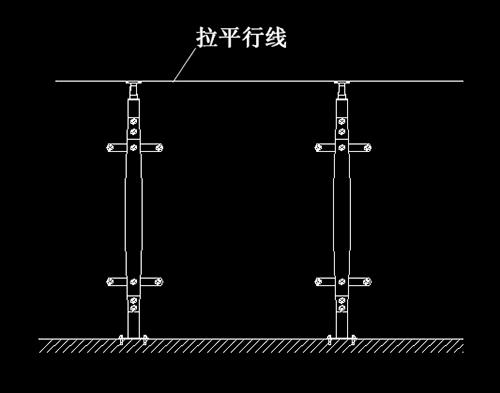 不锈钢护栏立柱