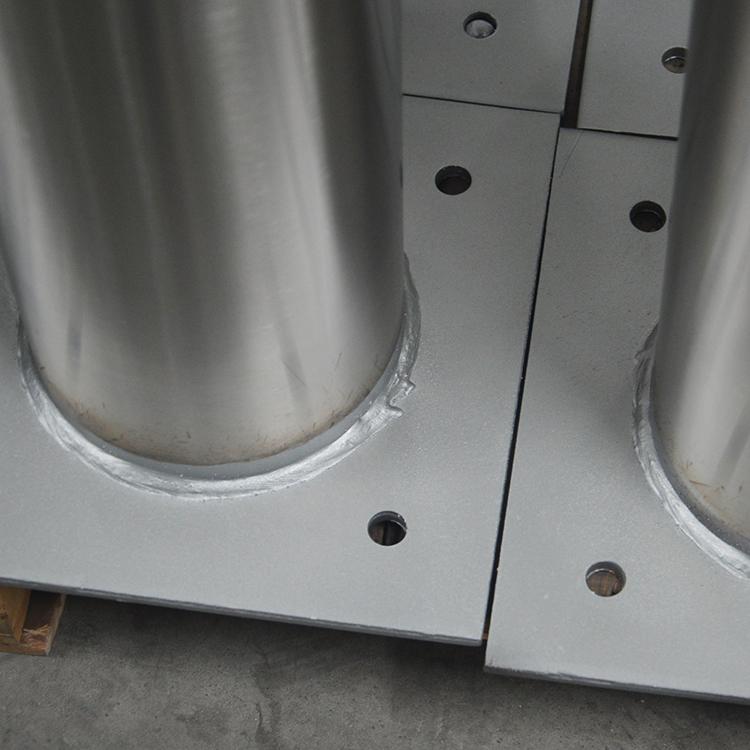 不锈钢挡车柱底板