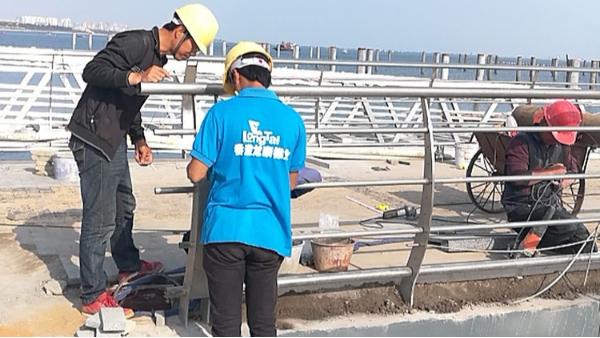 海口市西海岸码头工程护栏