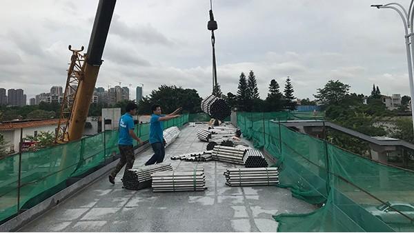 珠海市人行天桥不锈钢护栏