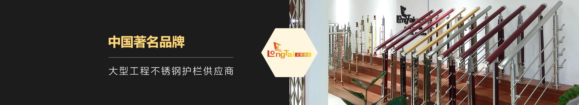 龙泰梯业-大型工程不锈钢护栏供应商