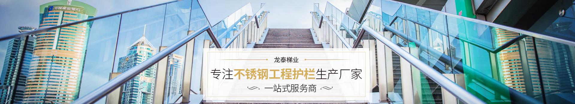 龙泰梯业-不锈钢护栏