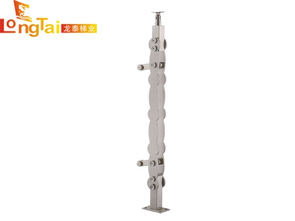 不锈钢单板立柱LT-014