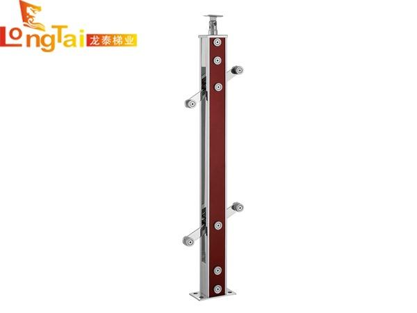 不锈钢夹木立柱LT-001