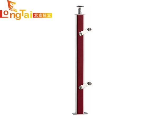 不锈钢夹木立柱LT-002