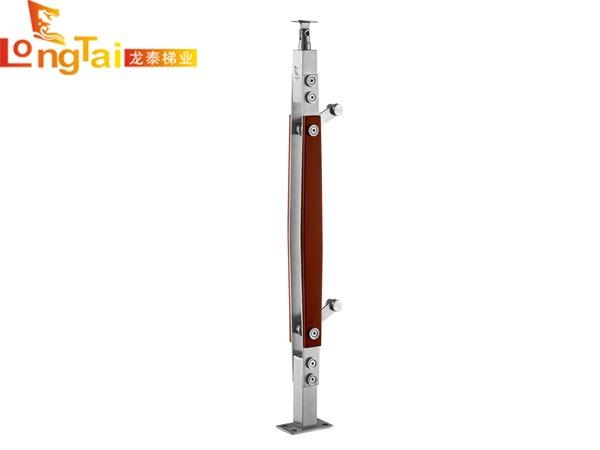 不锈钢夹木立柱LT-003