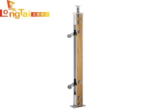 不锈钢夹木立柱LT-004