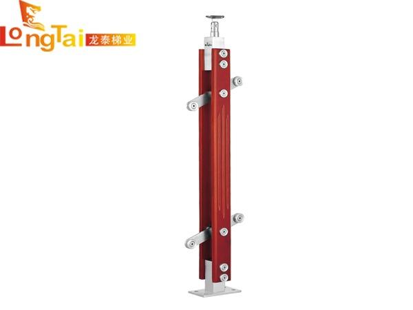 不锈钢夹木立柱LT-005
