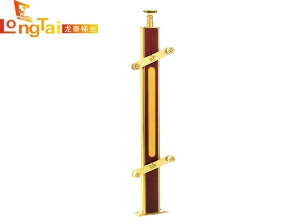 不锈钢夹木立柱LT-006