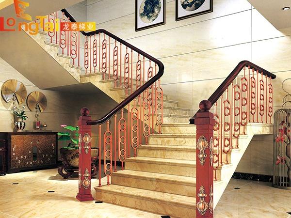 金属雕花楼梯护栏