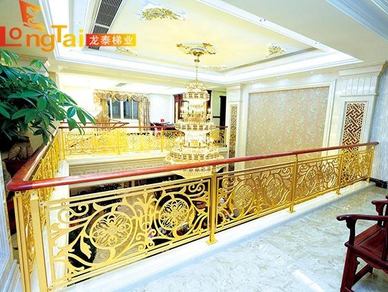 酒店雕花护栏