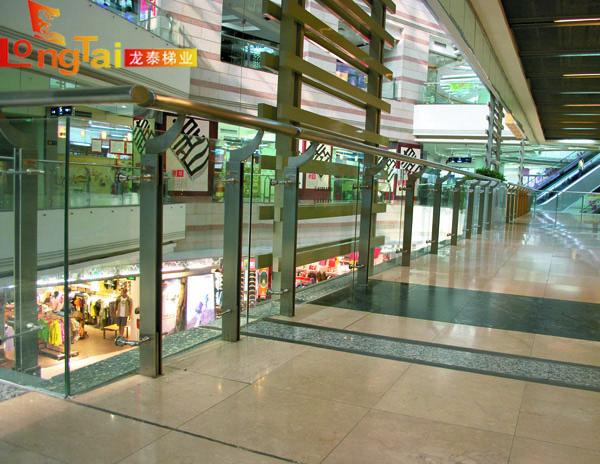 商场玻璃栏杆