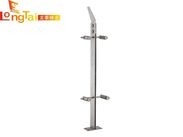 不锈钢双板立柱LT-006