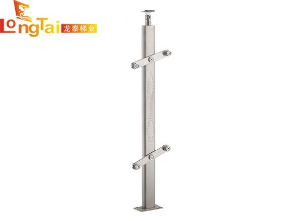 不锈钢方管立柱LT-007