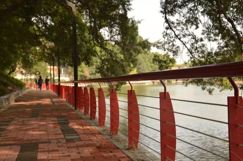 佛山石湾公园栏杆