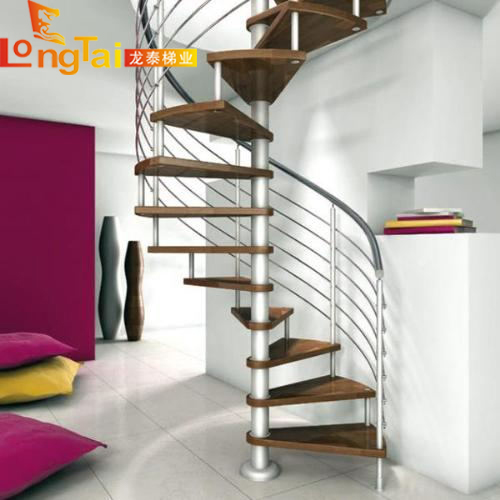 不锈钢旋转楼梯