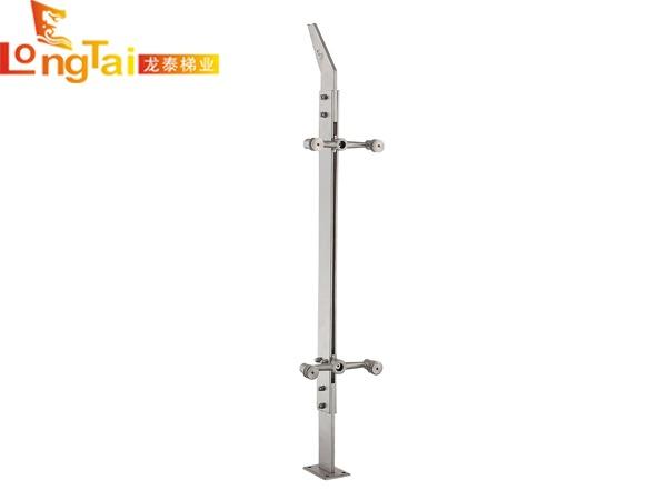 不锈钢实心双板立柱LT-001