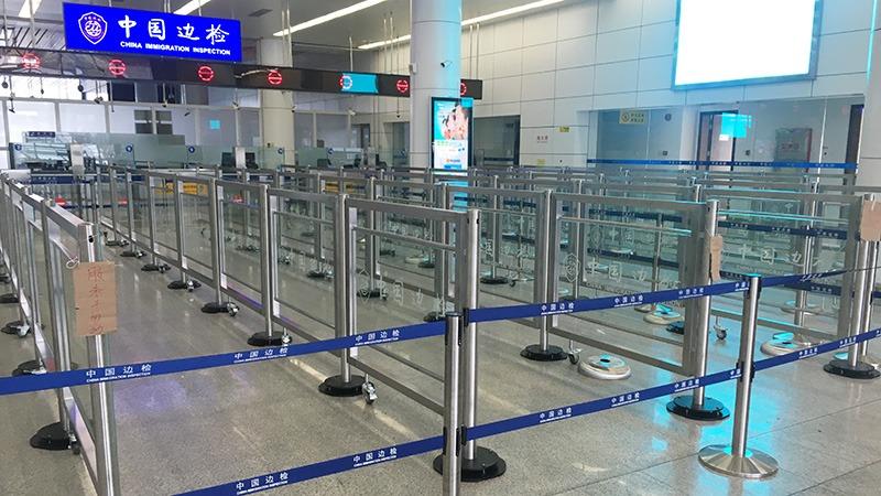 中国边检深圳站采用龙泰316不锈钢