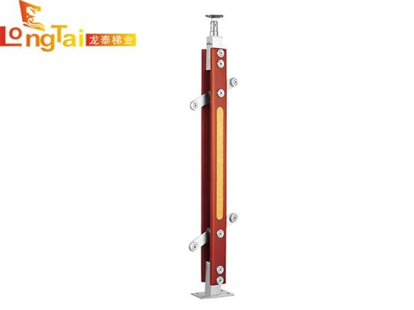 不锈钢夹木立柱LT-011