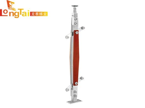 不锈钢夹木立柱LT-008