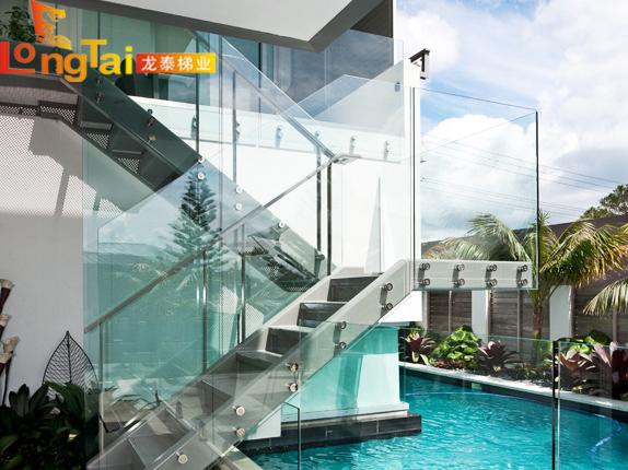 玻璃楼梯栏杆